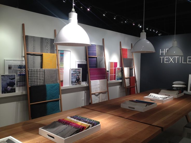 Elodie Blanchard collection at the new HBF textiles showroom in Chicago designed by 2x4.