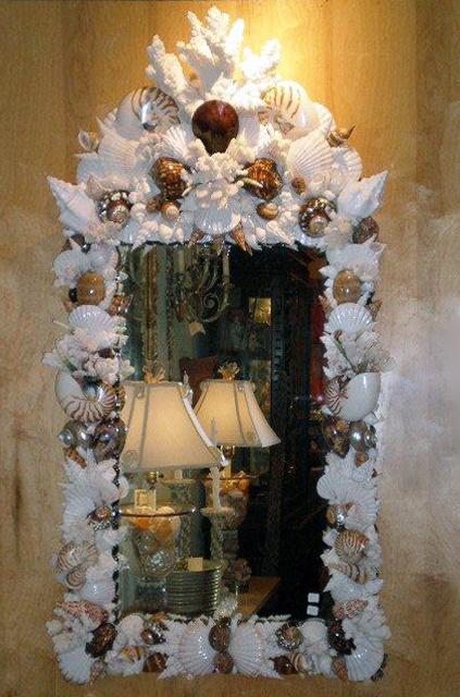 Seashell Frames, Mirrors, Moldings