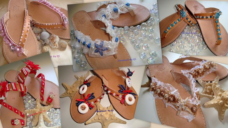sandals!!!  https://www.facebook.com/pages/Handmade-Creations-by-Efi/187659788043676