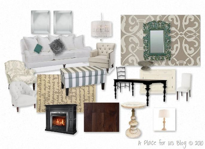 A Dining Room Mood Board