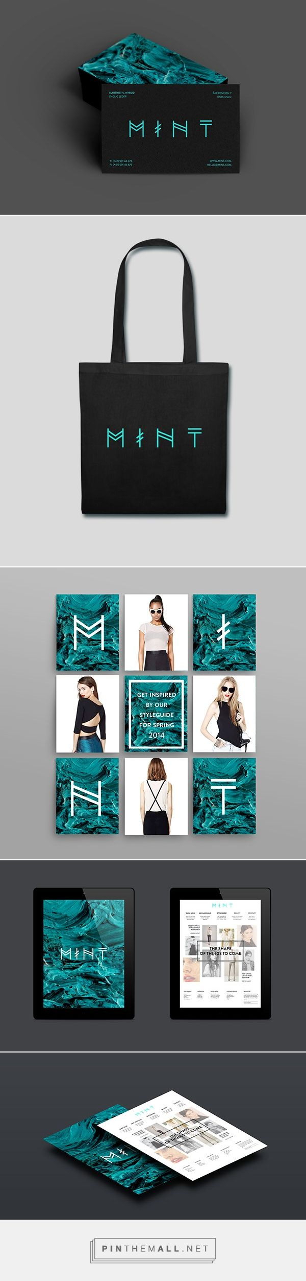 MINT Fashion Boutique Branding by Martine H. Nyrud | Fivestar Branding Agency – Design and Branding Agency & Curated Inspiration Gallery