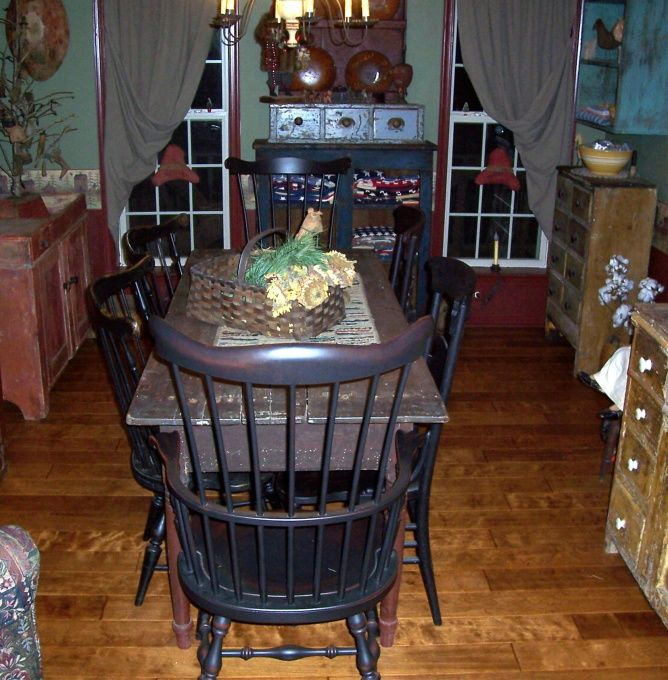 Primitive Kitchen Table And Chairs: 17 Best Images About Primitive Kitchen On Pinterest