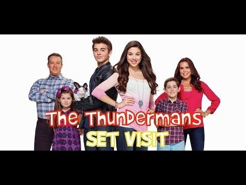 """On Set of Nickelodeon's """"The Thundermans"""""""