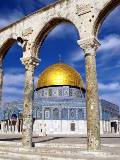 Dome of the Rock, I'll be living so close (well, closer than I am now at least) to this so soon! Gonna have to go see it as soon as I can!
