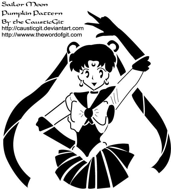 SM: Sailor Pumpkin Pattern by causticgit on deviantART