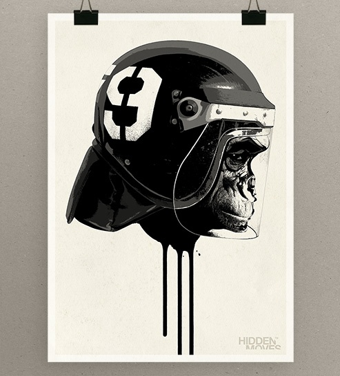 Ape Riot Limited Edition Print