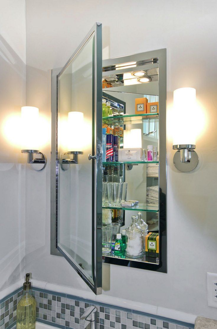Surface Mount vs. Recessed Bathroom Medicine Cabinets