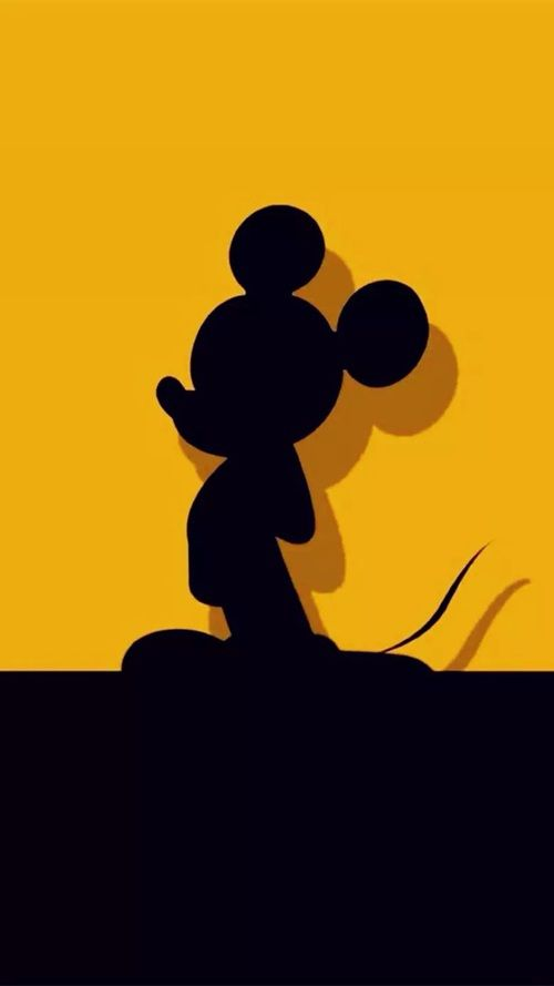 M = Mickey Mouse