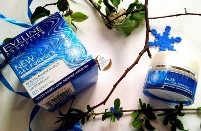 Eveline New Aqua Hybrid bogate serum-żel na dobranoc