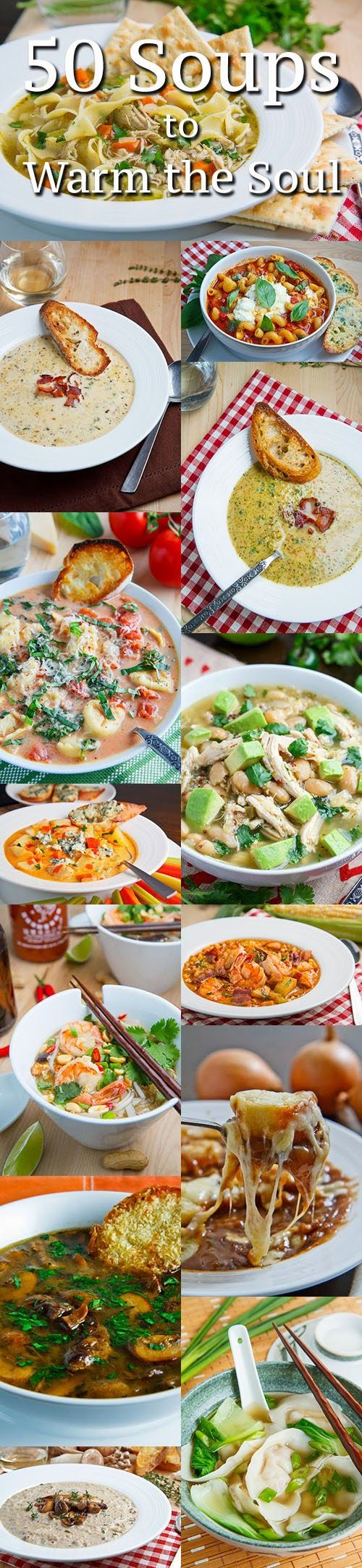 50 Soups to Warm the Soul