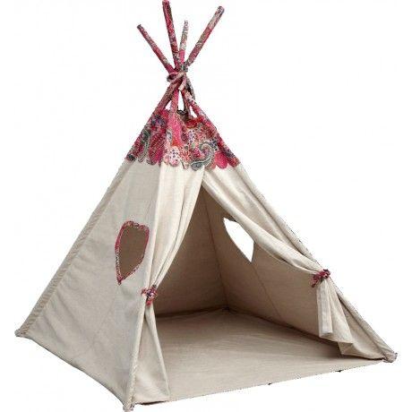 Alfredu0026compagnie Vous Invite à Découvrir Sa Tente TIPI Indienne En Coton Et  Métal ! Originale Non