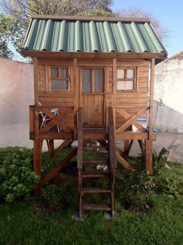 M s de 25 ideas incre bles sobre casa del rbol de ni os - Casitas de madera pequenas ...