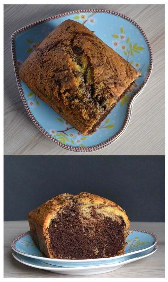 marble cake  made with love :)