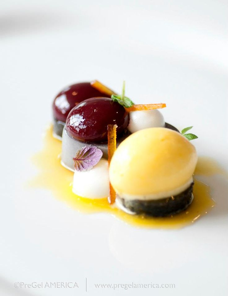 17 best images about plated dessert on pinterest food - Contemporary cuisine recipes ...