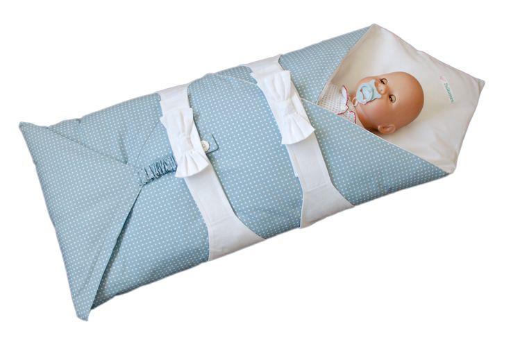 ... der Schlafsack, der Sie und Ihr Baby ruhig schlafen läßt