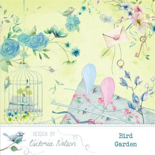 Bird Garden By Victoria Nelson