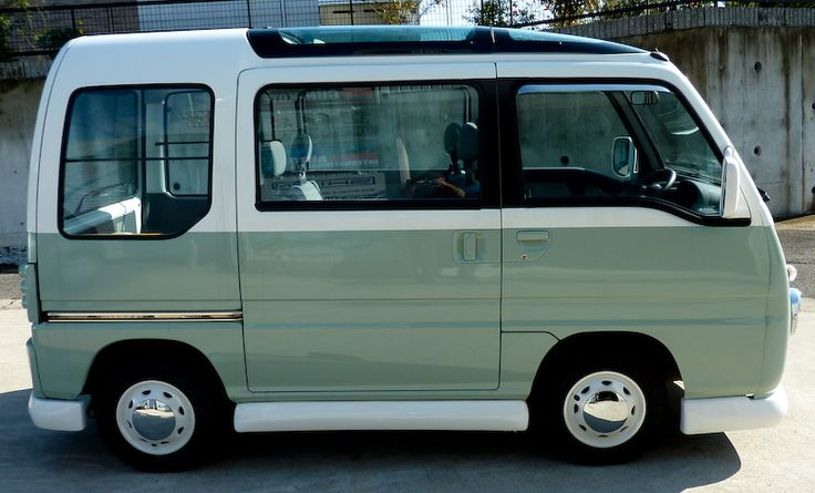 Subaru Sambar I really like the colours on this one, keeps the retro vibe alive.