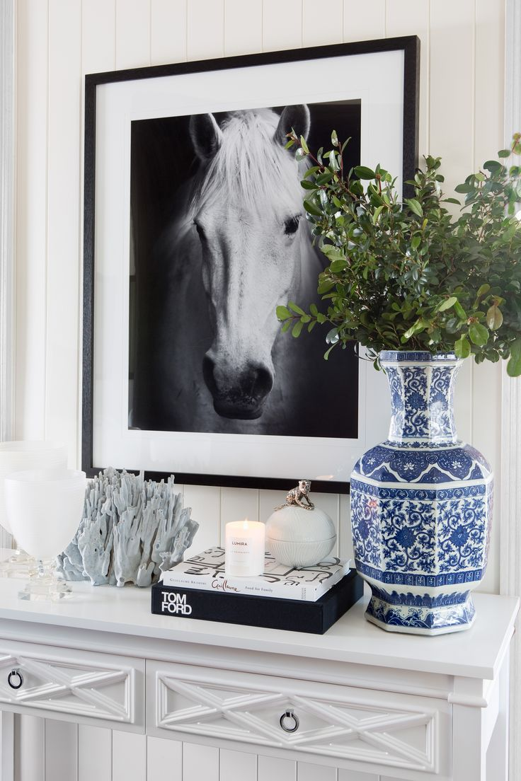 Leilani Ryder | Interior Decorating & Styling | Modern Hamptons Style | Console Styling