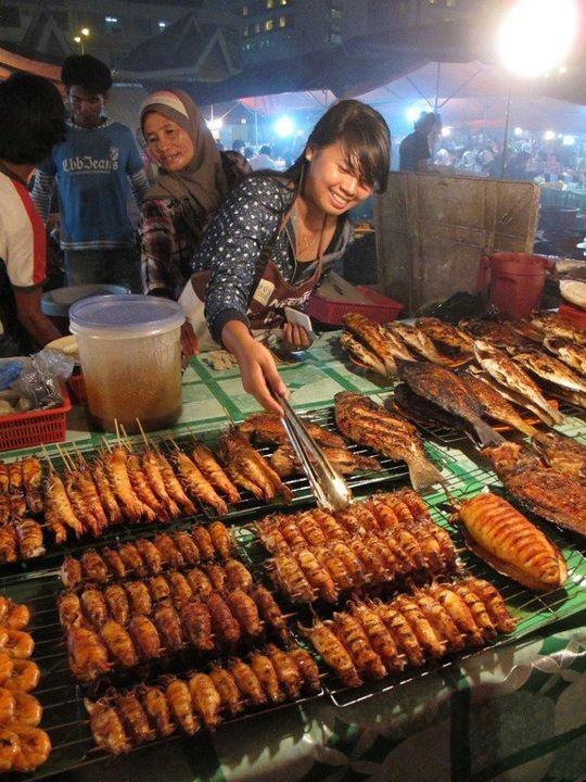 Kota Kinabalu filipino market, Malaysia. Felt like being in a travel show