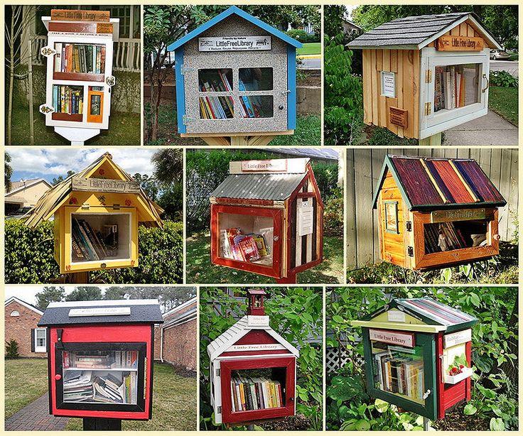 Маленькие бесплатные библиотеки: taberko