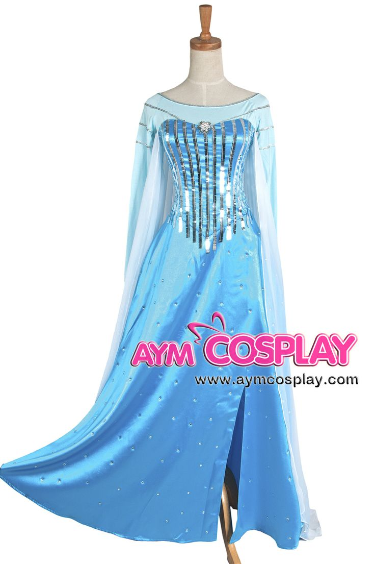 Disney Frozen Elsa dress Movie costume cosplay tailor-made [G1225]