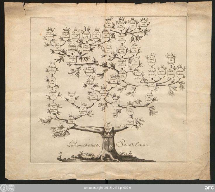 Lentersheimischer Stammbaum -  Drucke des 17. Jahrhunderts (VD17) - Digitale Sammlungen des 16., 17. und 18. Jahrhunderts