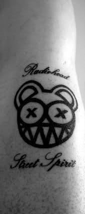 radiohead tattoos pinterest radiohead radiohead tattoo and tattoo. Black Bedroom Furniture Sets. Home Design Ideas