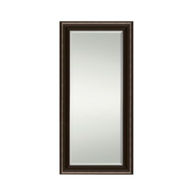 "<p>This full-length leaning or hanging mirror adds depth to a room with visually appealing beveled edges.</p><div style=""page-break-after: always""><span style=""display: none"">"
