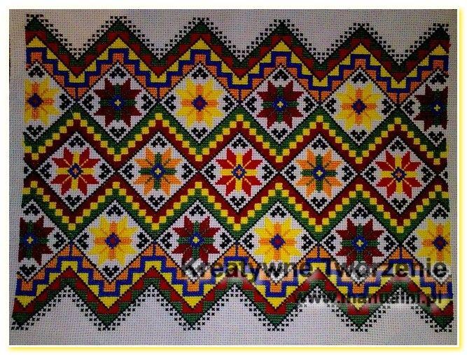 Подушки вишиті картини хрестиком Український (1)