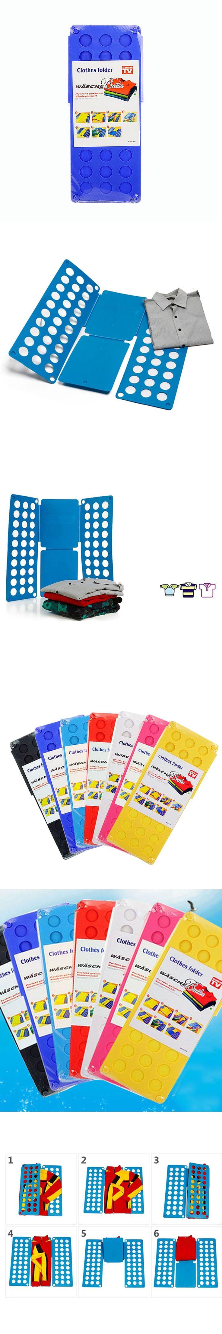 New Miraculous Laundry Folder Children Clothes Folder T-shirts Pants Towels Organizer Fold Garment Bboard Fast Easy Fun Tool BS