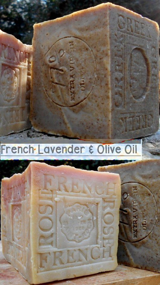 2018 Soaps -Olive oil's oleic acid helps to soften the skin, and the vitamin E improves the elasticity of the skin... The earliest recipes for Aleppo soap date back to 2400 B.C.  French Provence Lavender Soap can promote a sense of relaxation. It can be beneficial to use lavender soaps before bedtime to promote a deep sleep..