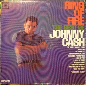 """CD 9 of """"The Complete Columbia Album Collection"""" - Johnny Cash - Ring Of Fire - The Best Of Johnny Cash (CD, Album) at Discogs"""