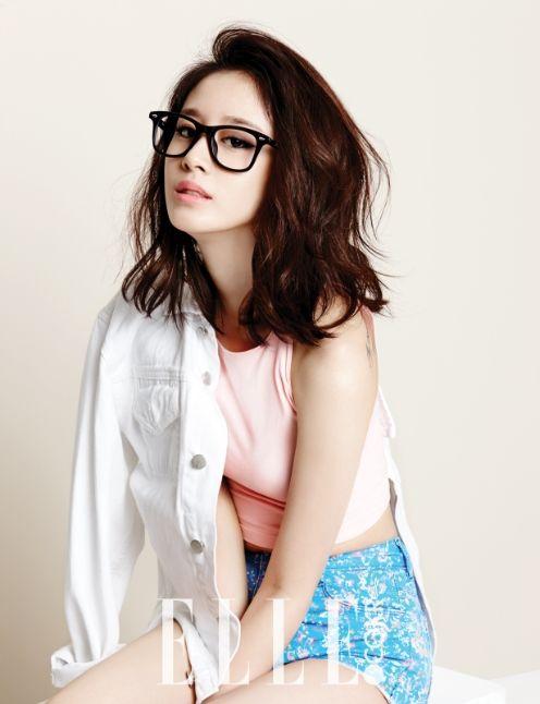 T-Ara Ji Yeon - Elle Magazine July Issue '14 c