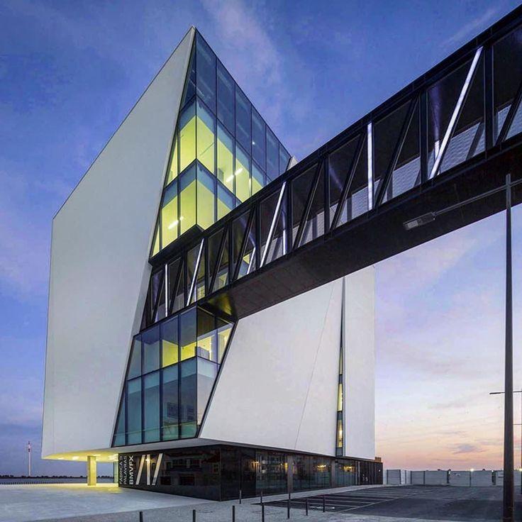 Vila Franca de Xira Municipal #Library – Miguel Arruda #Arquitectos Associados i…