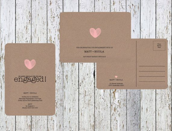 17 Best images about w e d d i n g t r a v e l – Rustic Wedding Invitations Kraft Paper