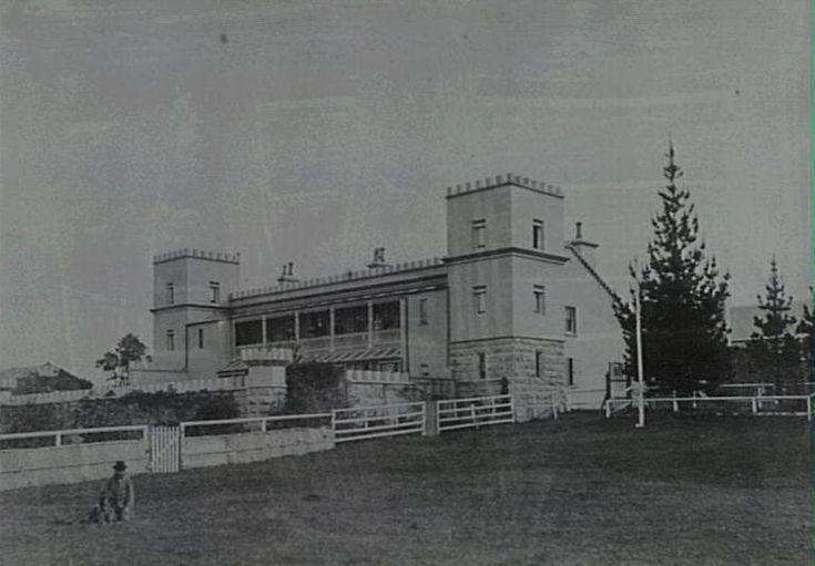 Thomas Holt's home,1890's  now Sylvania Waters.