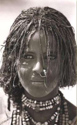 a woman from the Beja People, the remaining ancestry of the True Egyptians, who built the world's greatest and longest lasting empire that stood for 4,000 years.