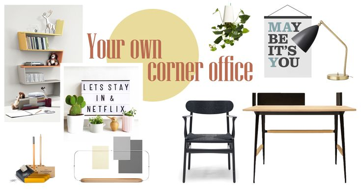 Home office ideas: decor advice and trends | Home office:  Your own corner office