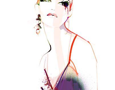 "Check out new work on my @Behance portfolio: ""fashionillu_39"" http://be.net/gallery/41027961/fashionillu_39"