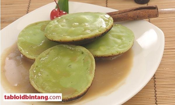 Resep Serabi Saus Santan .... a kind of traditional pancake