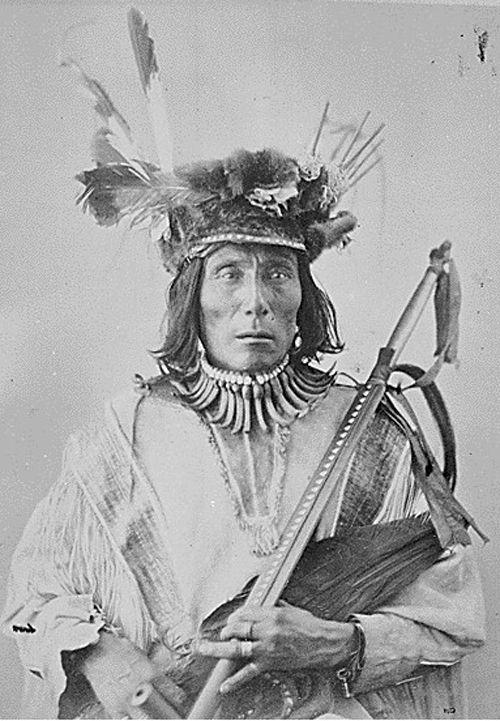 Medicine Bear,Yanktonai Sioux Nakota