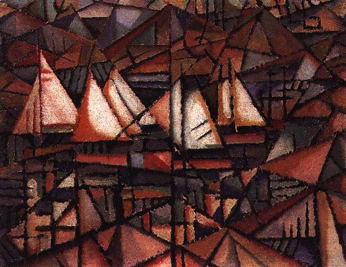 Barcos - 1913 - Amadeo de Souza Cardoso