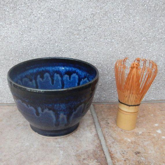 Matcha chawan ...... wheel thrown stoneware ceramic