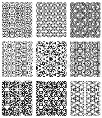 Simple Islamic Patterns | Islamic geometric patterns simple