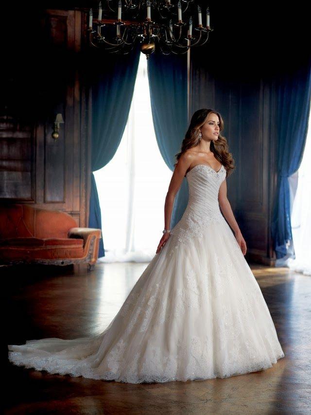 Magníficos vestidos de novia colección David Tutera 2014