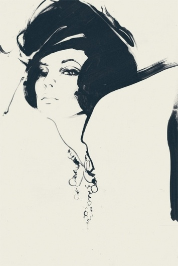 Illustration by Andrew Archer  I love the black and white simplicity