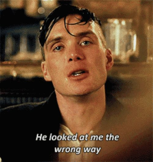 "For Everyone Who Heavy Breathes At The Thought Of Tommy Shelby From ""Peaky Blinders"" I'm drooling."