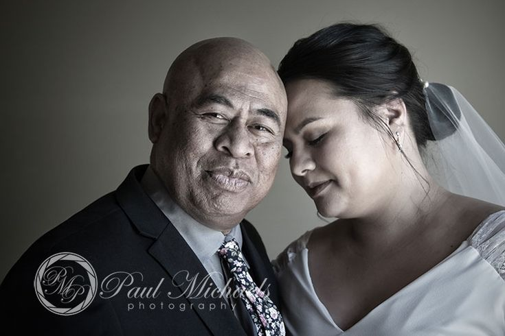 Rona and dad. New Zealand #wedding #photography. PaulMichaels of Wellington www.paulmichaels.co.nz