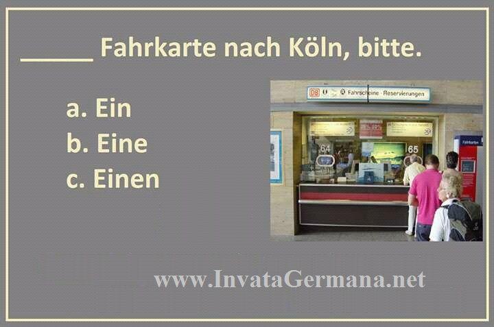 Chestionare de limba germana rezolvate | Invata Germana ABC