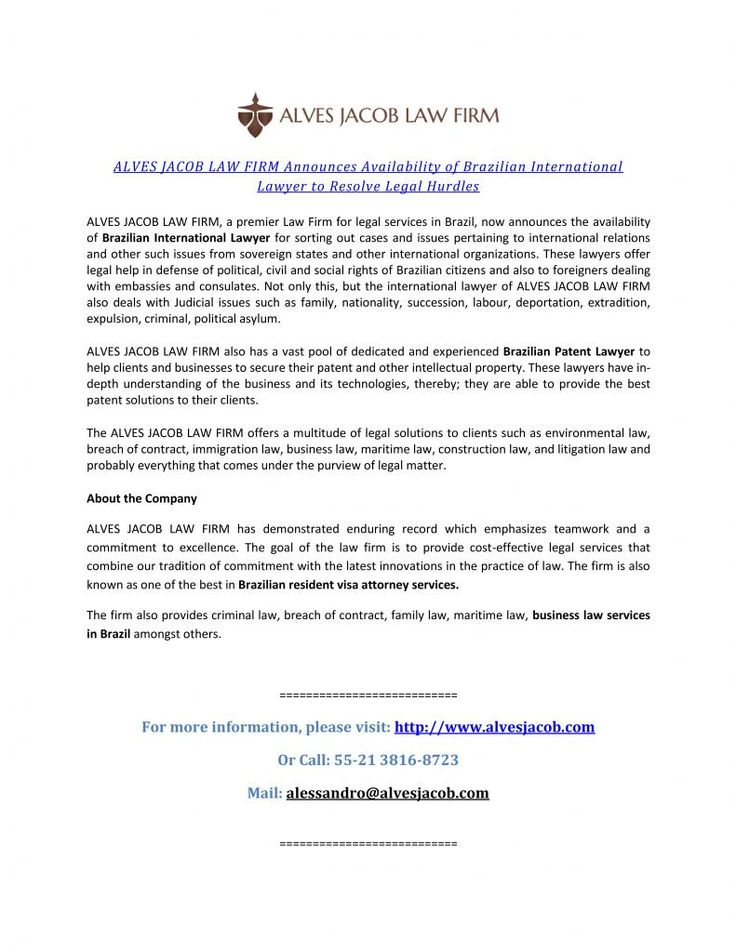 ALVES JACOB LAW FIRM has demonstrated enduring record which - what is breach of contract in business lawsuits